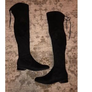 size 9 black over the knee Marc fisher boots